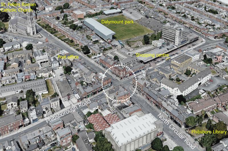 RobertBourkeArchitectsDublin, Covid Mobility Programme, Aerial View