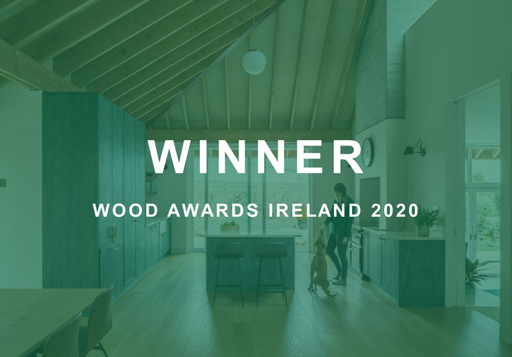 Wood Awards Ireland 2020 Winner – Pavilion House